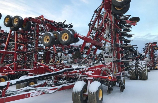2008 Bourgault 3310 Air Seeder
