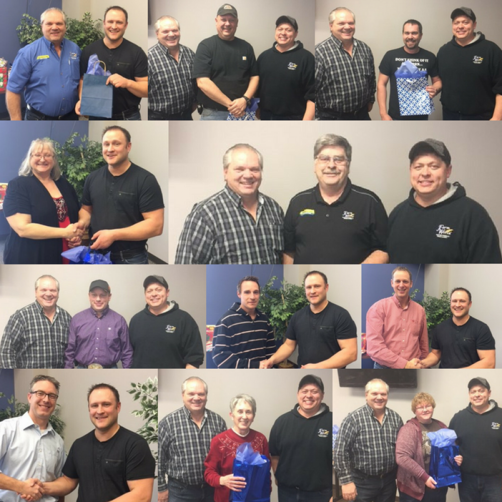 Celebrating our employees' years of service