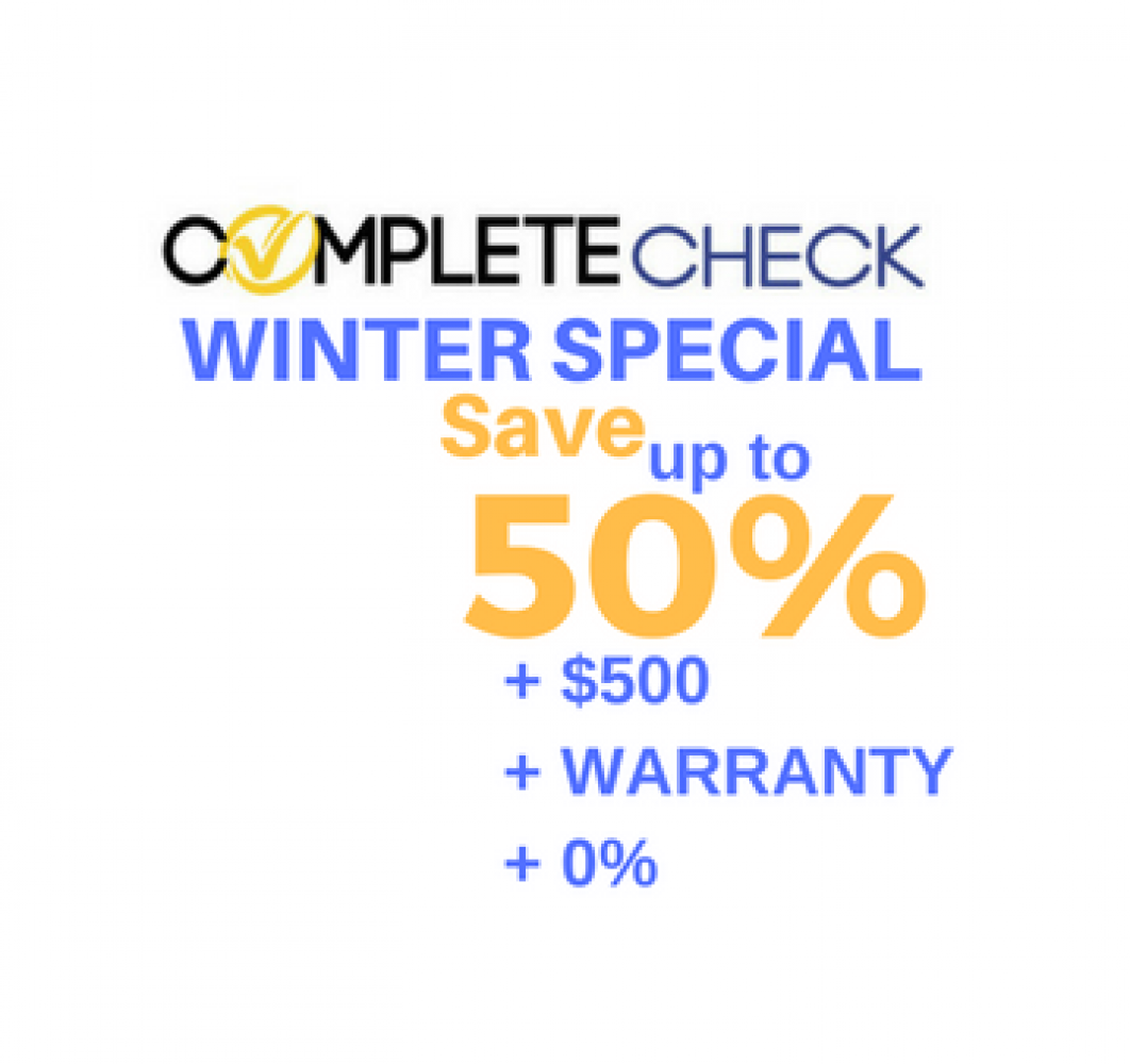 Winter Service Special - SAVE UP TO 50%