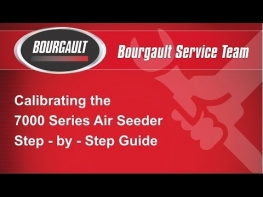 Calibrating the Bourgault 7000 Series Air Seeder - X30