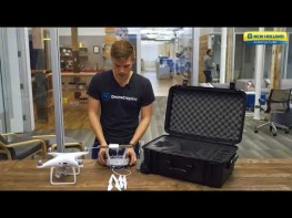 PLM™ Drone Data Management: Pre-Flight, In-field Setup