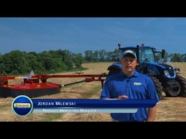 High Quality Cutting with H7000 Series Disc Mowers from New Holland