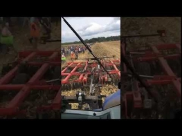 Ride Along: T8 Tractor and Kongskilde Vertical Tillage Tool