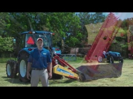 How to set up your H6000 Series Disc Mower