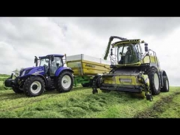 New Holland FR Forage Harvester Stone Detection System