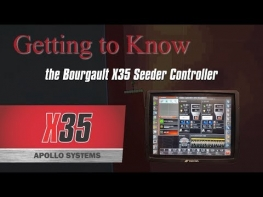 Bourgault X35 Apollo Seeder Controller (1 of 4) - Main Display