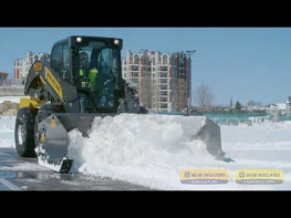 Snow Removal: Sectional Push Attachment