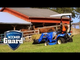 Workmaster™ Compact Tractors: Just Right.