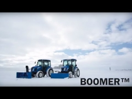 Boomer Tractor with Cab - The Ultimate Power Tool