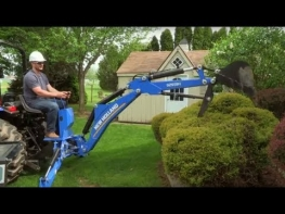 The New Holland Boomer 55 Tractor