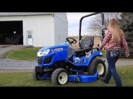 New Holland Workmaster™ 25S Subcompact Tractor