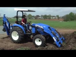 Compact Tractor with Loader - New Holland Boomer!