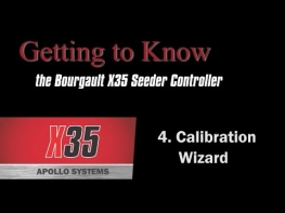 Bourgault X35 Apollo Seeder Controller (4 of 4) - Tank Calibration
