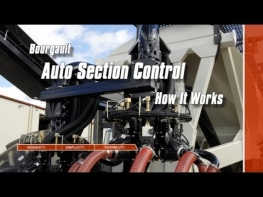 Bourgault Auto Section Control - How It Works