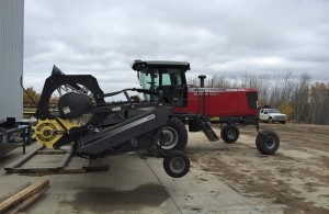 2013 Massey Ferguson 9740 Windrower