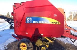 2008 New Holland BR7090 Baler/Round