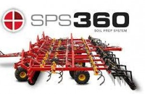 2017 Bourgault SPS360 Field Cultivator