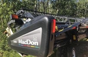2012 MacDon D60 Windrower Header