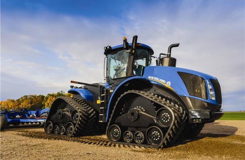 Tractor Front Track : New holland t series tractors
