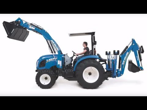 The New Holland Boomer Series of Compact Tractors