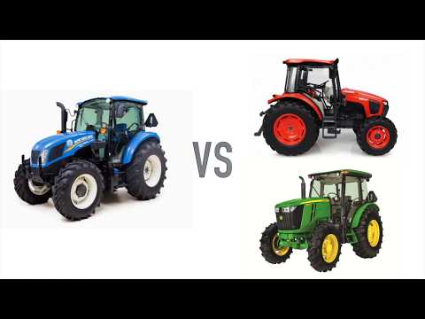 New Holland T4 Utility Tractors vs Kubota and John Deere