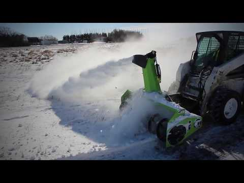Schulte SBX-75 and SBX-87 Snow Blowers