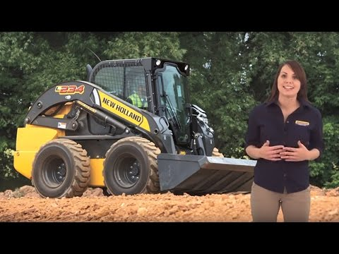 Why a New Holland L234 Skid Steer Loader?