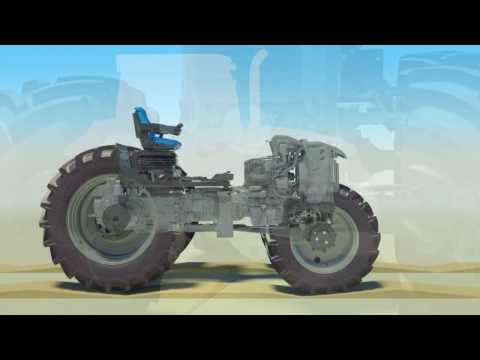 "How it Works: New Holland T6 Terraglideâ""¢ Front Axle Suspension"