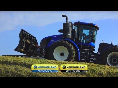 "New Holland T9 Auto Commandâ""¢ Tractors with CVT"