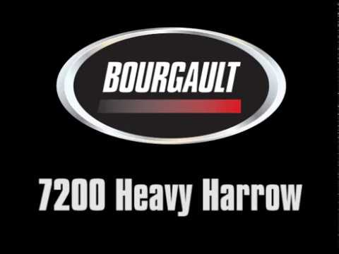 Bourgault 7200 Heavy Harrow