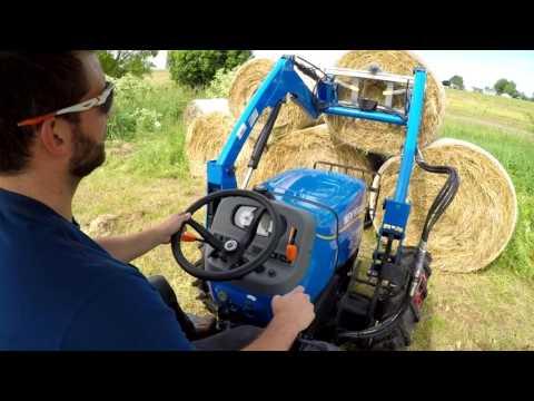 Ergonomic Design. WORKMASTER Tractor Operator Comfort
