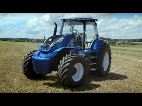 New Holland Methane Powered Concept Tractor
