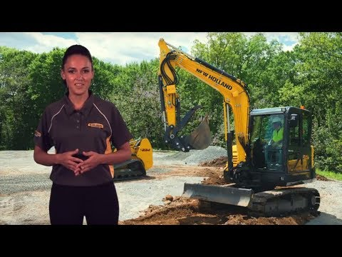 C-Series Compact Excavators - Features