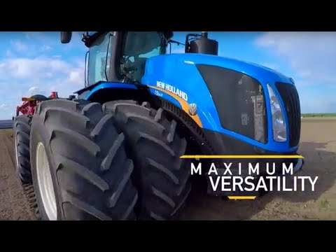 New Holland's 2018 Model Year T9 Tractor