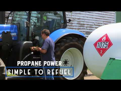 Propane Powered Tractor