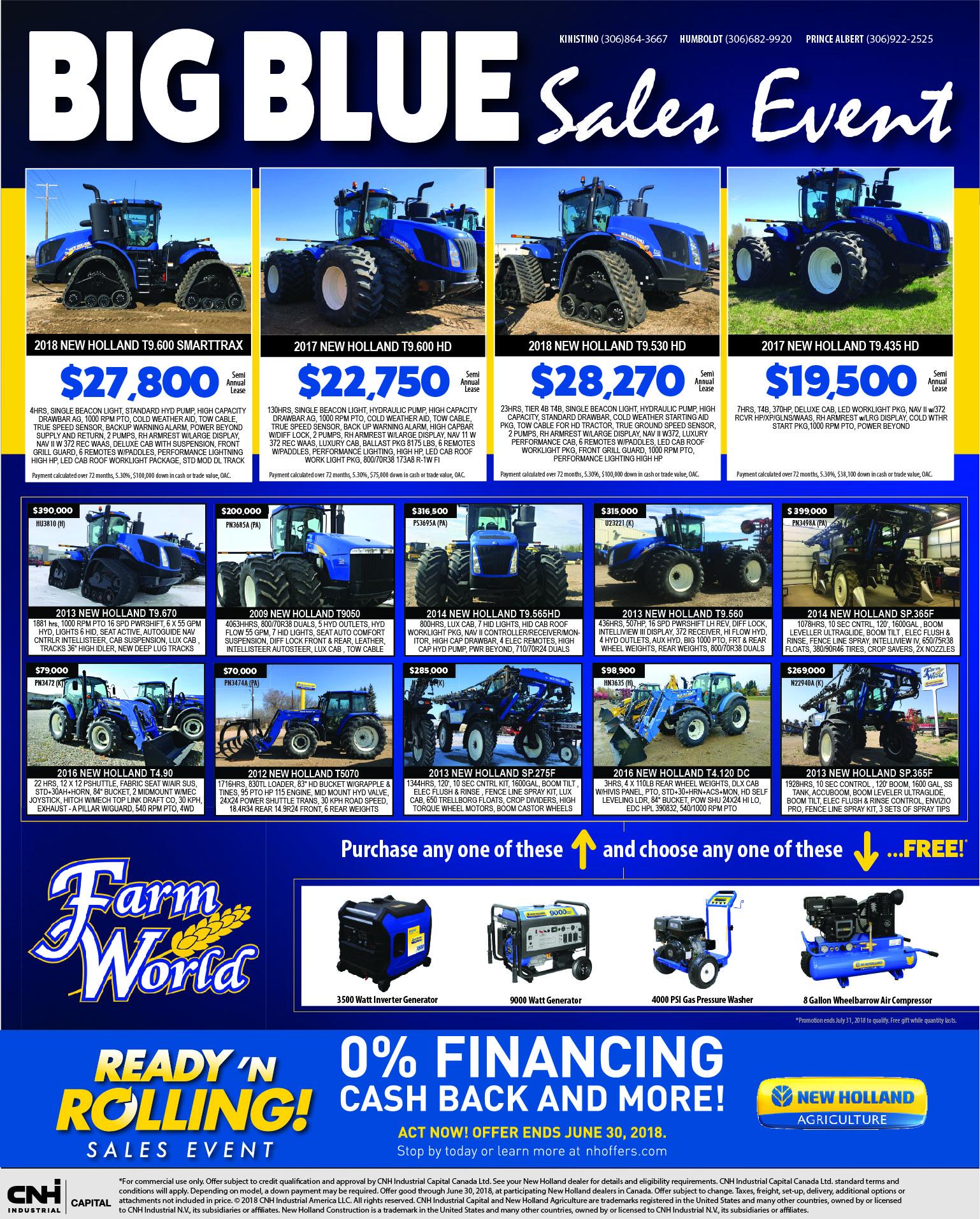 BIG BLUE Sales Event - Image 1