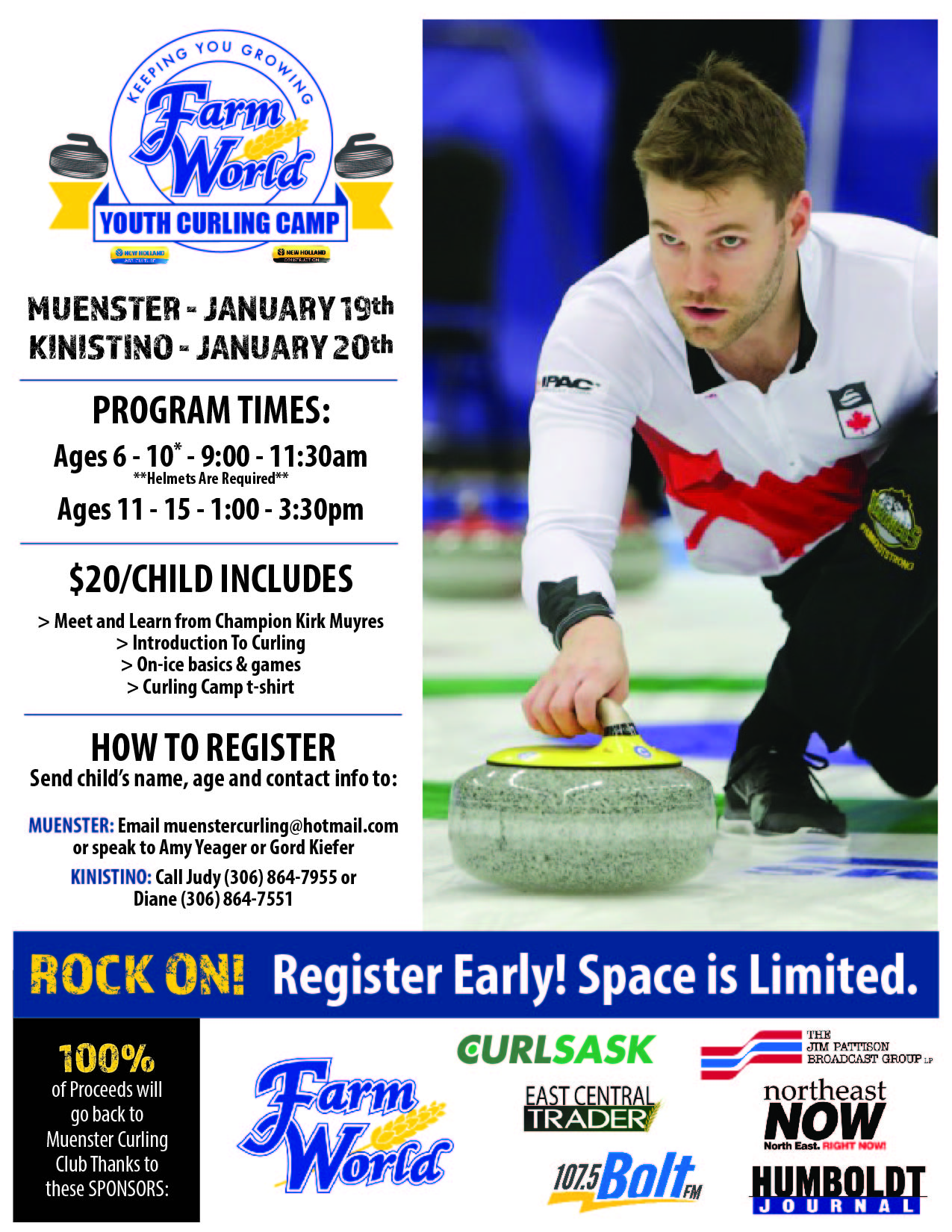 FARM WORLD YOUTH CURLING CAMP - Image 1
