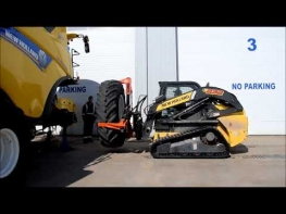 Change A Combine Tire In Less Than 4 Minutes | by Farm World