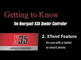 Bourgault X35 Apollo Seeder Controller (2 of 4) - EXtend Feature