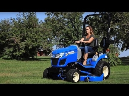 Machinery Minute: Workmaster™ 25S Subcompact Tractor