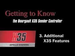 Bourgault X35 Apollo Seeder Controller (3 of 4) - Additional Features